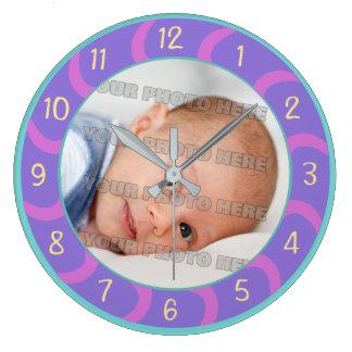 子供およびベビーのカスタム ラージ壁時計