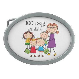 子供およびメスの先生100日 卵形バックル