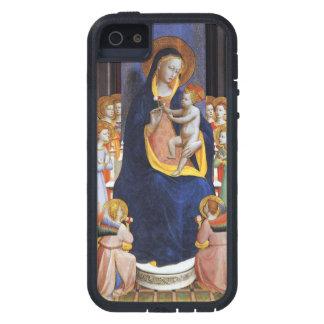 子供および聖者が付いているヴァージン iPhone SE/5/5s ケース