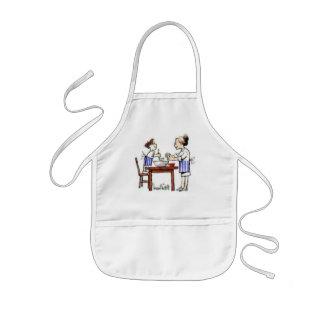 子供との調理 子供用エプロン