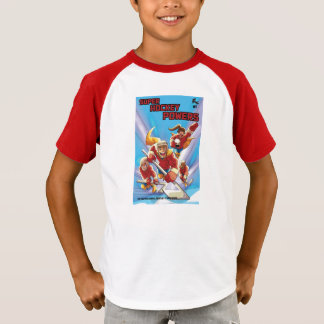 子供によってすごいホッケーはワイシャツに動力を与えます Tシャツ