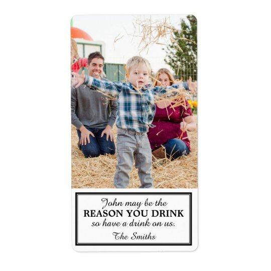 子供によるギフトのワインのラベル ラベル