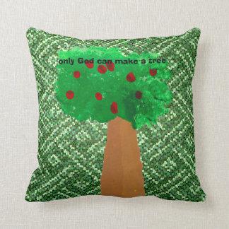 子供による木の芸術 クッション