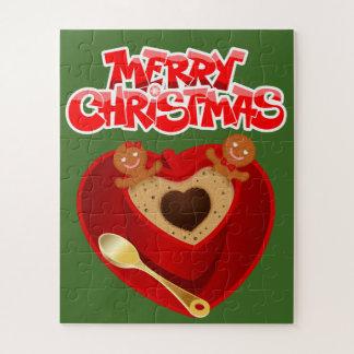 子供のかわいいクリスマスのパズル ジグソーパズル
