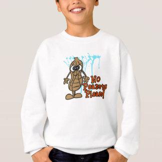 子供のためのピーナツアレルギー警報Tシャツ スウェットシャツ