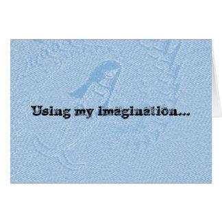 子供のための想像のバースデー・カード カード