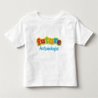 子供のための考古学者(未来) トドラーTシャツ