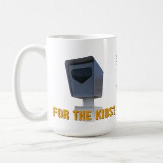 子供のための速度のカメラか。 コーヒーマグカップ
