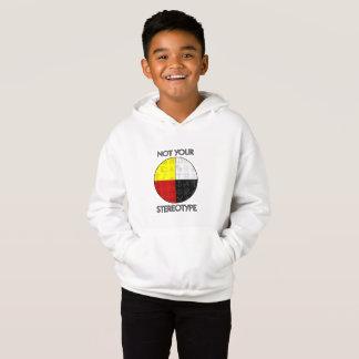 子供のないあなたのステレオタイプのフード付きスウェットシャツ(ライト)