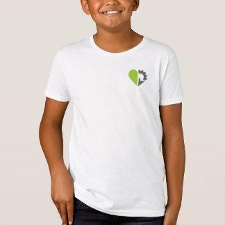 子供のアメリカの服装のオーガニックなTシャツ Tシャツ