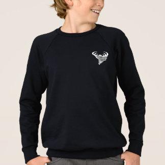 子供のアメリカの服装のRaglanのスエットシャツのtoddnado スウェットシャツ