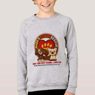 子供のアメリカの服装のRaglanのスエットシャツ スウェットシャツ