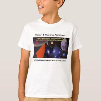 子供のオルダムおよびRochdaleの天文学のTシャツ Tシャツ