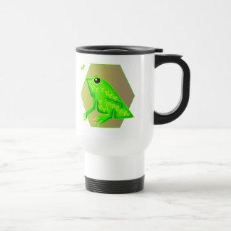 子供のカエルのTシャツおよび子供のカエルのギフト トラベルマグ