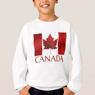 子供のカナダの旗のスエットシャツのカエデの葉の子供のShir スウェットシャツ