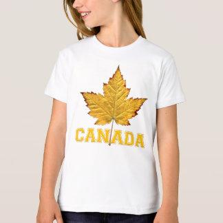 子供のカナダのTシャツのオーガニックなカナダのチームワイシャツ Tシャツ
