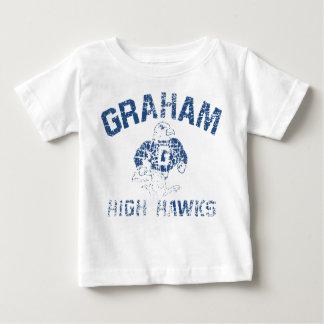 子供のグラハムの高いタカ ベビーTシャツ