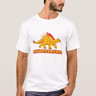 子供のケントロサウルスのワイシャツ Tシャツ