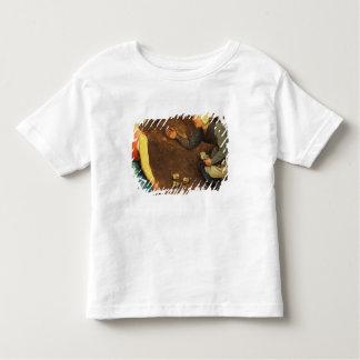 子供のゲーム: ゲームの投げることの詳細 トドラーTシャツ