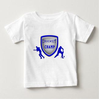 子供のコオロギのTシャツ ベビーTシャツ