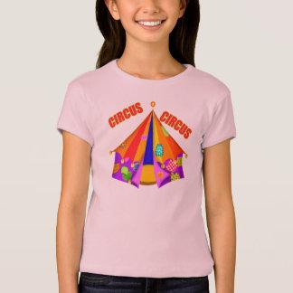 子供のサーカスのテントのTシャツ Tシャツ