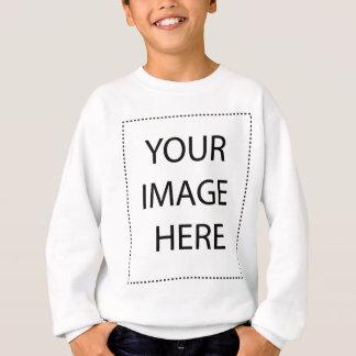 子供のスエットシャツの垂直テンプレート スウェットシャツ