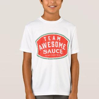 子供のスポーツTekの基本的な性能のTシャツ Tシャツ