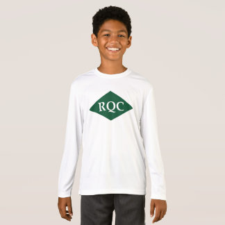 子供のスポーツTekの競争相手の長袖のTシャツ Tシャツ