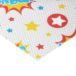 子供のスーパーヒーロー 薄葉紙