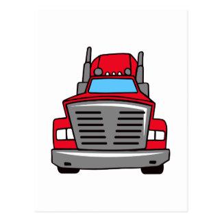 子供のトラック ポストカード