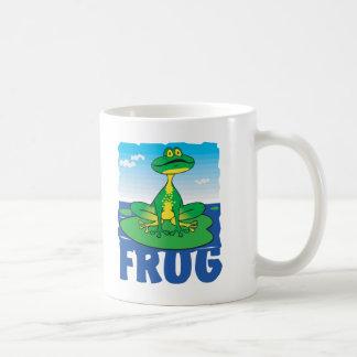 子供のフレンドリーなカエル コーヒーマグカップ