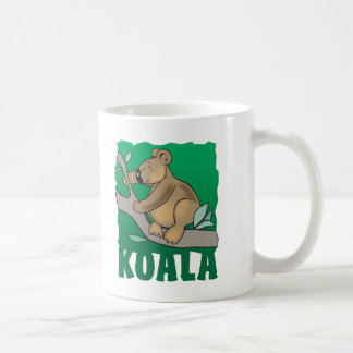 子供のフレンドリーなコアラ コーヒーマグカップ