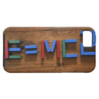 子供のブロックはE=mc2を示すことを整理しました iPhone SE/5/5s ケース