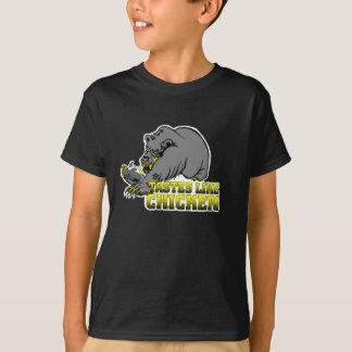 子供のボストン鶏のワイシャツ Tシャツ