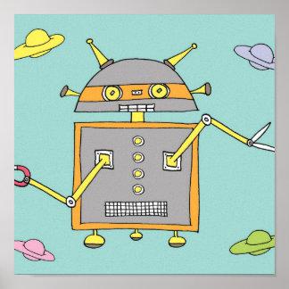 子供のロボット ポスター