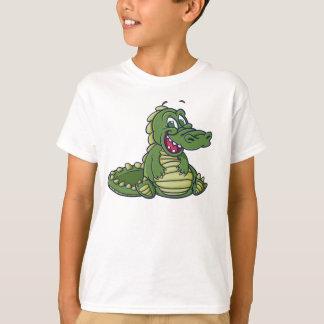 子供のワニのTシャツ Tシャツ