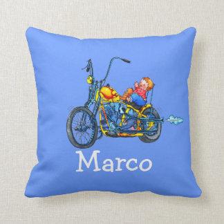 子供の一流のオートバイのベビー-枕 クッション