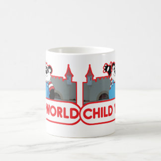 子供の世界のコーヒー・マグ コーヒーマグカップ