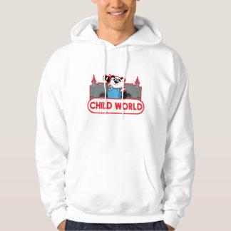 子供の世界のレトロのフード付きのスエットシャツ パーカ