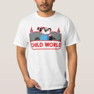 子供の世界の価値Tシャツ Tシャツ