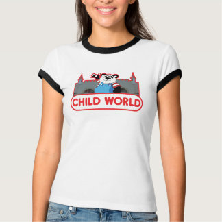 子供の世界の女の子の信号器のTシャツ Tシャツ