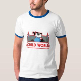 子供の世界メンズ信号器のTシャツ Tシャツ