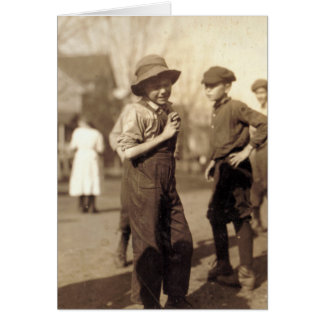 -子供の労働者1913年12月 カード