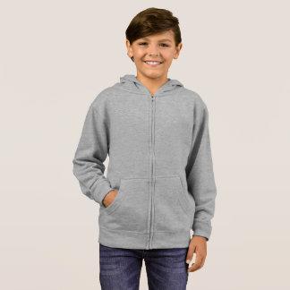 子供の基本的なジッパーのフード付きスウェットシャツ パーカ