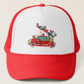 子供の帽子が付いている普通消防車 キャップ