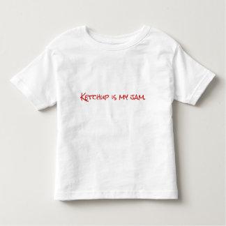 子供の幼児のケチャップのTシャツ トドラーTシャツ