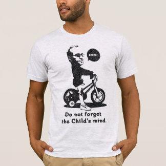 子供の心を忘れないで下さい Tシャツ
