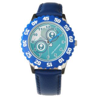 子供の惑星の天王星のキャラクターの腕時計 腕時計