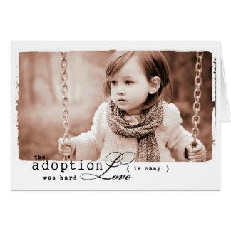 子供の採用の女の子 グリーティングカード