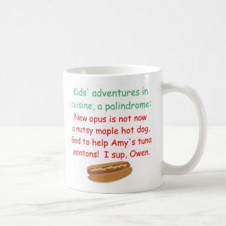 子供の料理の回文 コーヒーマグカップ